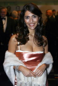 Italian actress Caterina Murino at the London premiere of