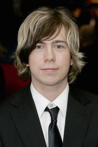 Musician James Bourne at the London premiere of