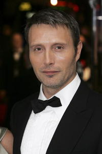 Danish actor Mads Mikkelsen at the London premiere of
