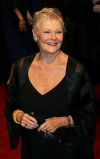 British Actress Dame Judi Dench at the London premiere of