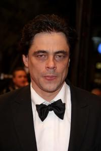Benicio Del Toro at the premiere of