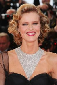 Model Eva Herzigova at the premiere of