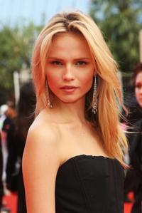 Natasha Poly at the premiere of