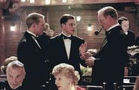 Senator Russell (Keir Dullea), Edward Wilson (Matt Damon) and Director Philip Allen (William Hurt) in