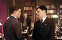 CIA agent Edward Wilson (Matt Damon) and British spy Arch Cummings (Billy Crudup) in