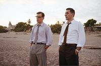 Agent Edward Wilson (Matt Damon) and assistant Ray Brocco (John Turturro) in