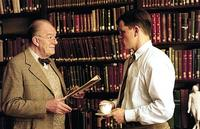 Michael Gambon and Matt Damon in