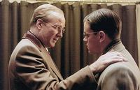 William Hurt and Matt Damon in