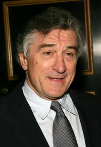 Actor/director Robert De Niro at the N.Y. premiere of