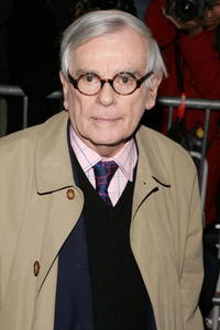 Writer Dominick Dunne at the N.Y. premiere of