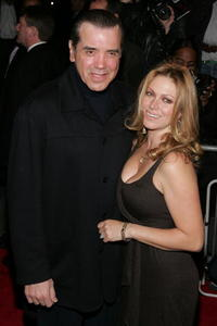 Actor Chazz Palminteri and wife Gianna Palminteri at the N.Y. premiere of