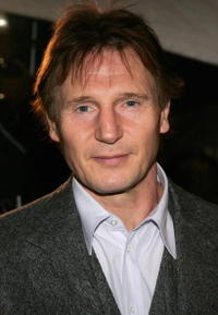 Actor Liam Neeson at the N.Y. premiere of