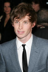 Actor Eddie Redmayne at the N.Y. premiere of