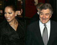 Grace Hightower and actor/director Robert De Niro at the N.Y. premiere of
