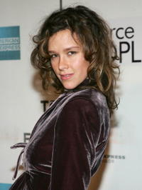 Actress Paz De La Huerta at the screening of