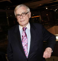 Author Dominick Dunne at the West Hollywood premiere of