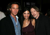 Director Tom DiCillo, actors Callie Thorne and Steve Buscemi at the premiere of