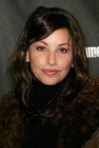 Actress Gina Gershon at the premiere of