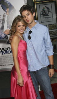 Cameron Goodman and friend at the Los Angeles premiere of