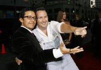 Efren Ramirez and Harland Williams at the Los Angeles premiere of