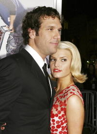 Dane Cook and Jessica Simpson at the Los Angeles premiere of
