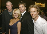 Lionsgate president Michael Paseornek, Jessica Simpson; Dane Cook and director Greg Coolidge at the afterparty for the Los Angeles premiere of
