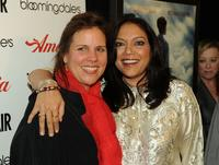 Producer Lydia Dean Pilcher and Mira Nair at the New York premiere of