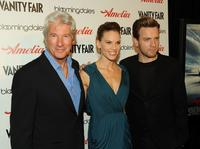 Richard Gere, Hilary Swank and Ewan McGregor at the New York premiere of