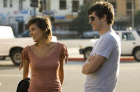 Sophia (Elena Ayana) and Carter (Adam Brody) in