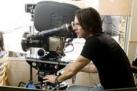Cinematographer Paul Cameron on the set of