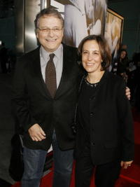 Director Lawrence Kasdan and his wife Meg at the L.A. premiere of