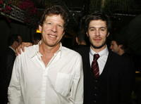 Castle Rock's Martin Shafer and actor Adam Brody at the after party of the L.A. premiere of