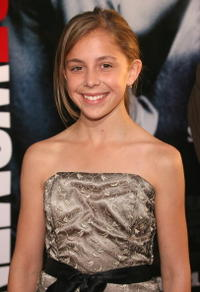 Actress Makenzie Vega at the L.A. premiere of