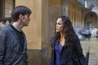 Colin O'Donoghue as Michael Kovak and Alice Braga as Angeline in