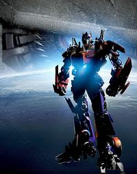 Optimus Prime, the leader of the Autobots, in