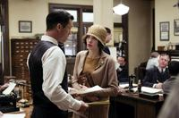 Jeffrey Donovan as Captain J.J. Jones and Angelina Jolie as Christine Collins in