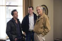 Producer Brian Grazer, Producer Robert Lorenz and Director/Producer Clint Eastwood on the set of