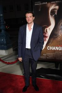 Jason Bulter Harner at the California premiere of