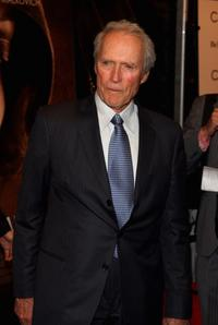 Director Clint Eastwood at the New York premiere of