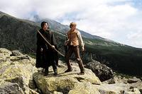 Murtagh (Garrett Hedlund) and Eragon (Ed Speleers) prepare for a momentous battle in