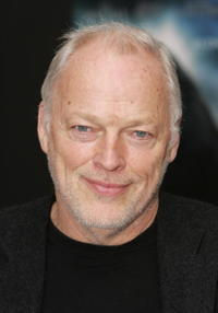 Musician David Gilmour at the London premiere of