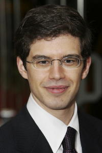 Author Christopher Paolini at the London premiere of