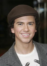 Actor Richard Fleeshman at the London premiere of