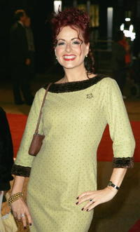 Carrie Grant at the London premiere of