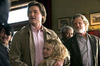 Kurt Russell, Dakota Fanning and Kris Kristofferson in