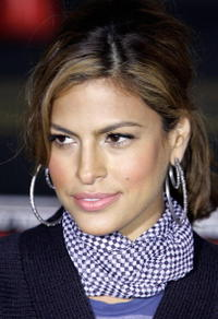 Actress Eva Mendes at the L.A. premiere of