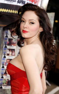 Actress Rose McGowan at the L.A. premiere of