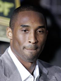 Lakers' Kobe Bryant at the L.A. premiere of