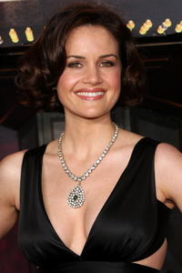 Actress Carla Gugino at the L.A. premiere of