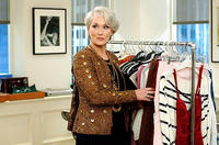 Fashion editor Miranda Priestly (Meryl Streep) is unhappy with the latest designs in